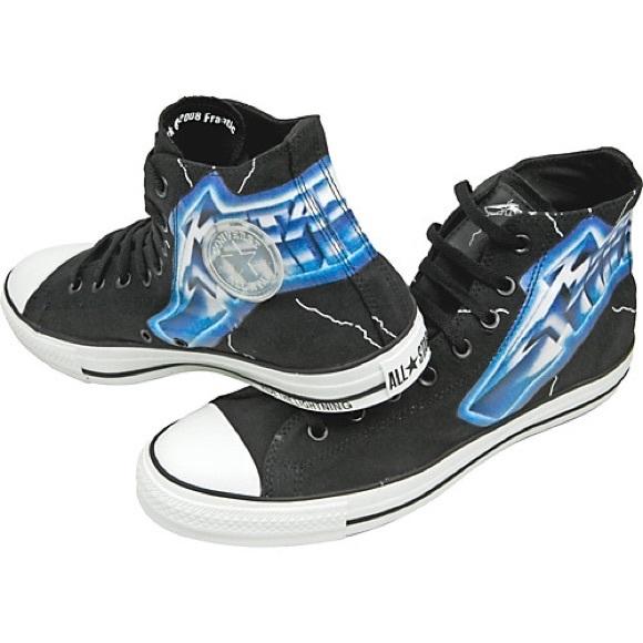 247a628ff9077d Converse Shoes - Converse Metallica High Tops